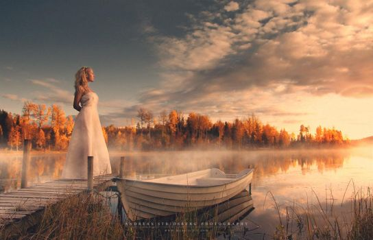 Morning Bride by Stridsberg