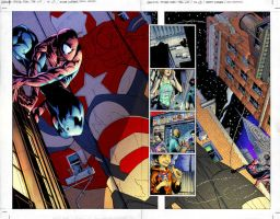 Spider-man Page Final by Creation-Matrix