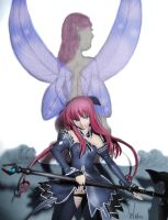 Fairy and anime figure by AardbeiElfje