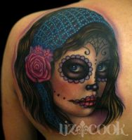 Day of the Dead by LizCookTattoo