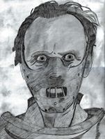 Hannibal Lecter by MrRakky