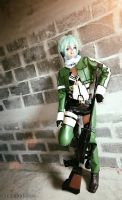 Sword Art Online II Sinon cosplay 7 by yukigodbless