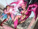Wonder Woman vs Star Saphire by ArtistAbe