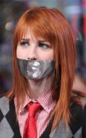 Hayley-Williams gagged by PhM 01b by PhMBond