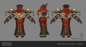 Wizard Armor Concept by slipled