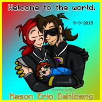 Welcome to the World Mason by MidNight-Vixen