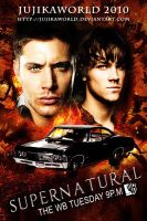 Supernatural Postcard by Jujikaworld