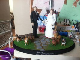 Cake Topper Final Mounting by JetGirl87