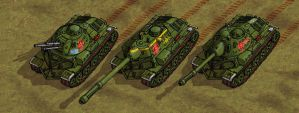 Marbanian MBT, heavy TD and AA vehicle DETAIL by wingsofwrath