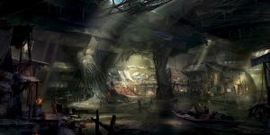 underground city by jonone
