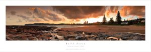 Nth Avoca Beach Sunset by MattLauder