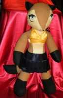 Chachan Doll in Skirt and Halter Top by Ratofblades