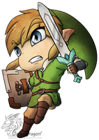Skyward sword chibi by Japandragon