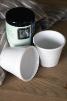 Two small white tea beakers by scarlet1800