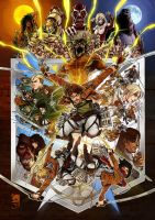 Attack on Titan by Noiry