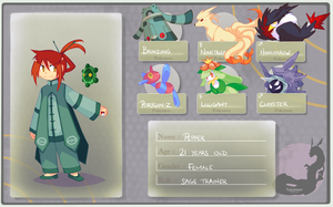 Pokemon-Overture - Trainer Application by ClefdeSoll