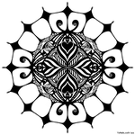 Mandala 1 by chaotic-symmetry