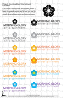 Morning Glory Logo Concept by lorrainerosado