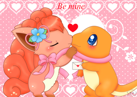 Be mine by jirachicute28