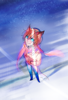 Cosmic Fox by BritishMuffin
