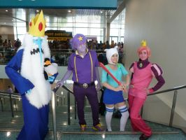 Anime Expo 2012: Genderbent Adventure Time Cosplay by bluupanda