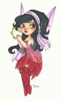 Chibi Disney Fairy Collection: Esmeralda by chelleface90