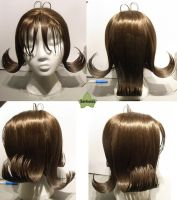 Wig Commission - Selphie by kyos-girl