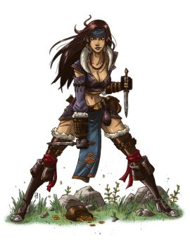 Highland Rogue by mscorley