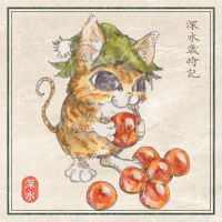 [Kitten] Salmon roe by chills-lab