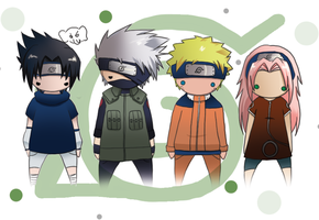Team 7 - coloured by theToothlessDemon