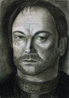 Mark Sheppard as Crowley by RusCoollGirl