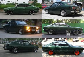 kuki's wheels over the years by evil-hanzel