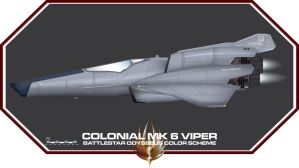 Viper Mk 6 Coloring Test by Galen82