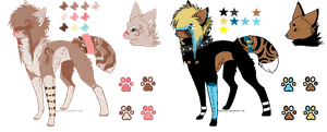 /Scene Canine Adopts/ by BleedingColorAdopts