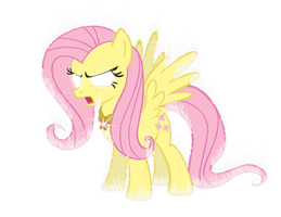 Element of RAGE - Fluttershy by Snicketbar