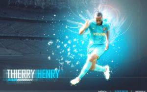 Thierry Henry by shanikt