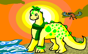 Sunny Day - MSpaint Crap by zookydragon