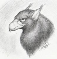 Griffin portrait by Paperiapina