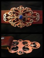 Victorian Belt Buckle by ilkela