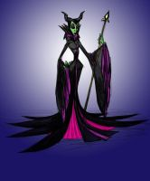Maleficent by KimBeee