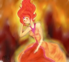 Flame Princess by Tinaeatsmuffins