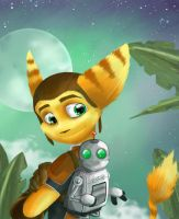 Ratchet and Clank by Kiizuh