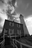 Fisgard Lighthouse by digitalus