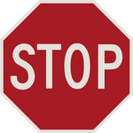 STOP Sign (PSD Included) by DouglasAllen