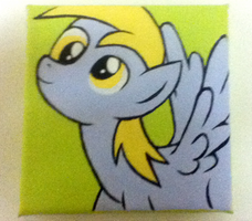 Derpy Hoove Painting by LoveandLimerence