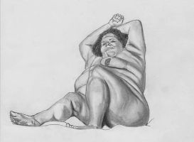 BBW Drawing no. 12 by BBWDepiction