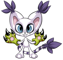 Gatomon by Mesmeromania