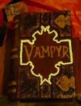 Buffy Vampyr book outside by illcoveryouwjh