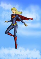Supergirl by bountyDBZ