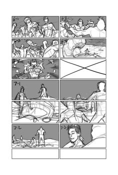 Process: Using Storyboards in Comics by NelsonBlakeII